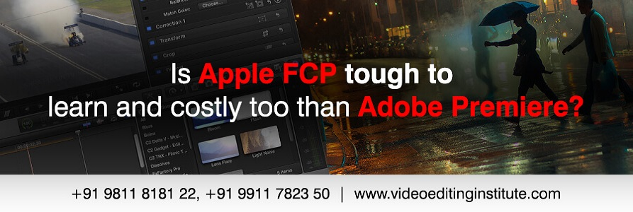 Apple FCP and Premiere Pro Banner Design