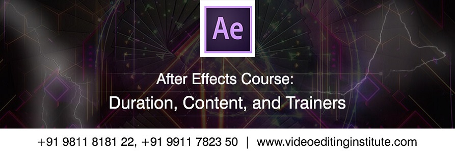 After Effects Professional Courses Banner