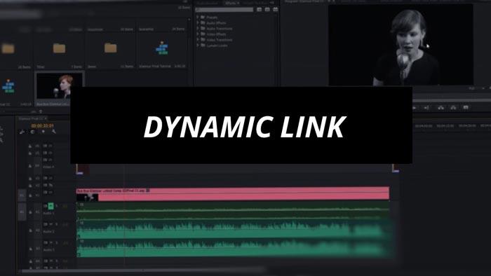 Dynamic Link in Premiere Pro